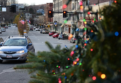 Decorating Christmas trees in North Adams - 111418
