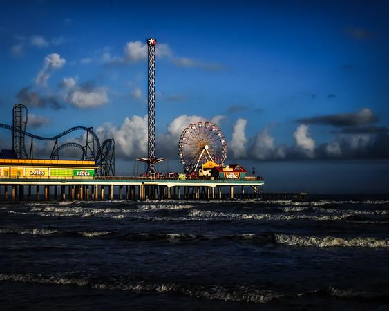 Galveston Historic Pleasure Pier Scenes