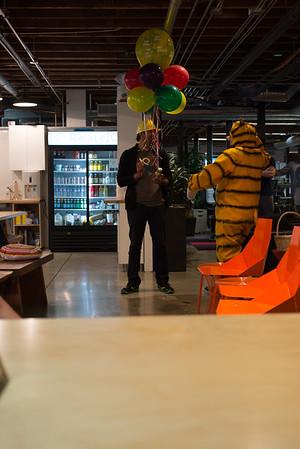 Tigger Visits The Office