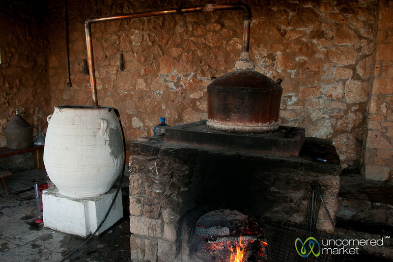 Making Raki the Traditional Way - Agreco Farm, Crete