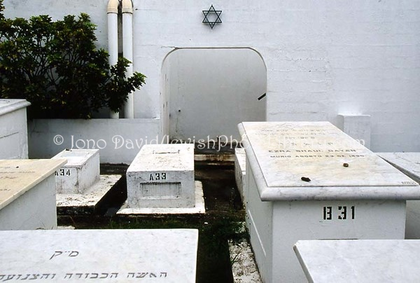 PANAMA, Panama City. Cemetery de la Sociedad Shevet Ahim. (2008)
