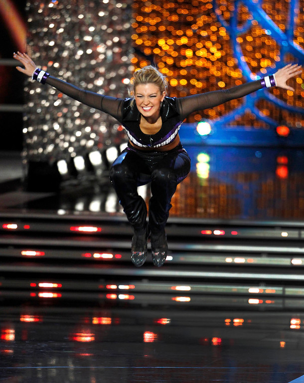 . Mallory Hytes Hagan, Miss New York, tap dances during the talent portion of the Miss America Pageant in Las Vegas January 12, 2013. Hagan was later named Miss America 2013. REUTERS/Steve Marcus