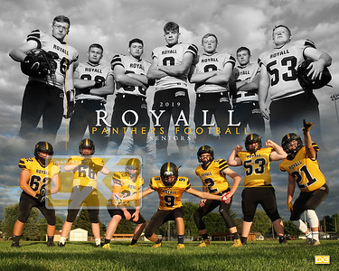 Royall football seniors FB19