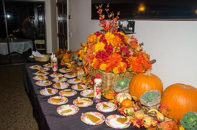 Rancho Thanksgiving Dinner 11-22-2014