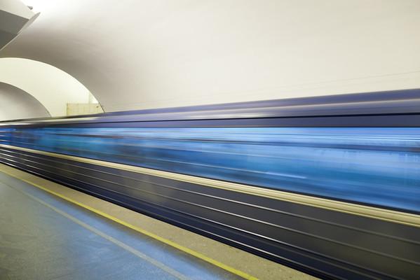 St. Petersburg Metro Impressions