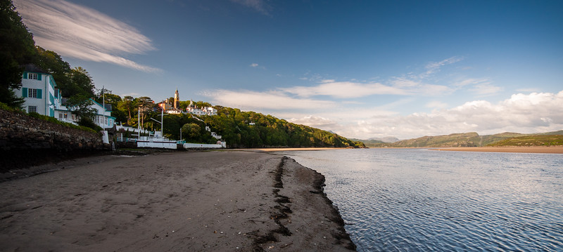 Estuary of the Afon Dwyryd at Portmeirion