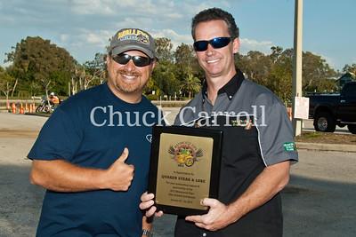 Quaker Steak - Clearwater, Florida----  Bike Night  --March 28, 2012