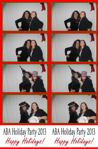 ABA Holiday Party December 7, 2013