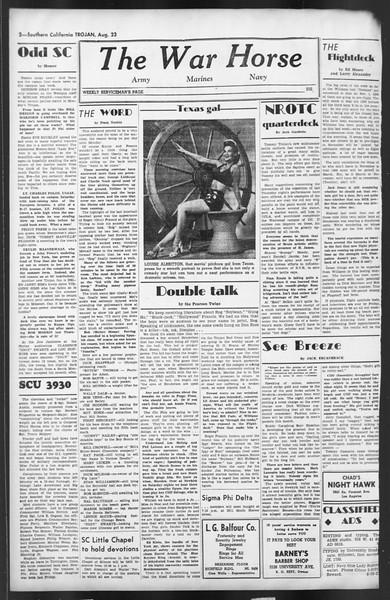 The Trojan, Vol. 35, No. 154, August 23, 1944