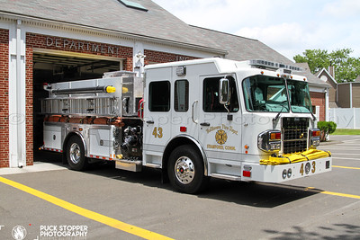 Apparatus Ceremony - Belltown Fire Department, Stamford, CT - 6/26/21