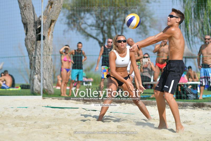 presso Zocco Beach PERUGIA , 25 agosto 2018 - Foto di Michele Benda per VolleyFoto [Riferimento file: 2018-08-25/ND5_8472]