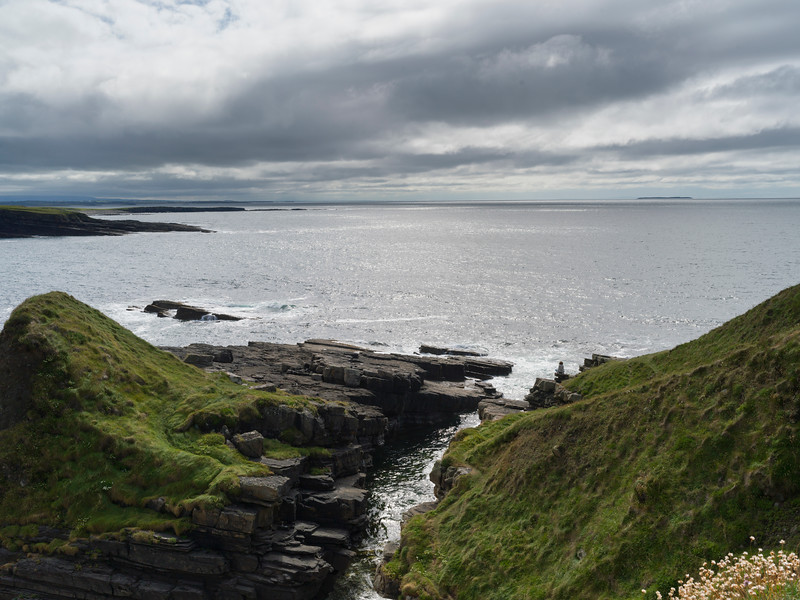 Scenic view of Mullaghmore Peninsula, Grange, County Sligo, Ireland