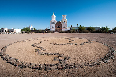 San Xavier del Bac Mission   Tucson, Arizona