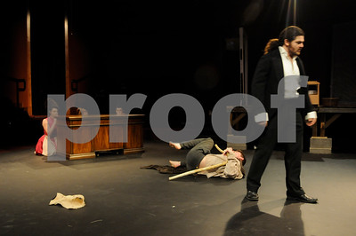 """4/10/15 Tyler Civic Theater Presents """"The Elephant Man"""" by Andy Brosig"""