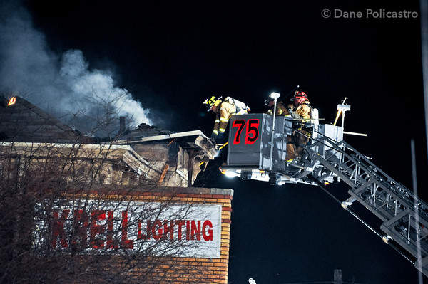 3-19-10 Park Ridge, NJ 4th Alarm: 70 Park Avenue
