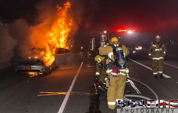 LAFD - Auto Fire - 1-23-16