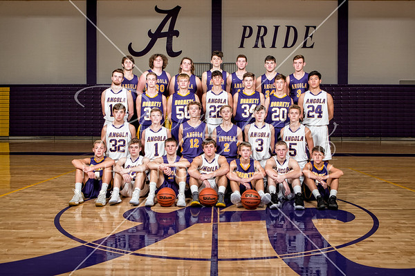 Boys Basketball Team 2018