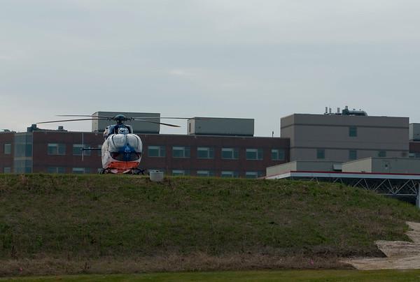 Flight For Life visits new Sherman Hospital - Dec. 2, 2009