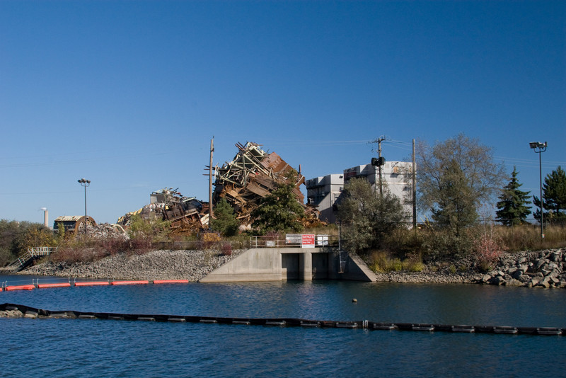 Remains of the Lakeview Plant