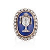 2.04ctw Georgian Urn Motif Diamond and Enamel Ring 0