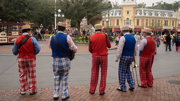 Disneyland Resort, Disneyland, Main Street USA, Band