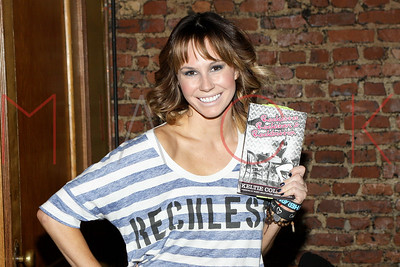 """New York, NY - December 11:  The book signing for the new book """"Rockettes, Rockstars & Rock Bottom"""", New York, USA."""