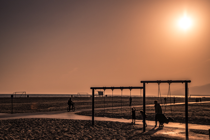 May 4 - Approaching sunset at the beach, Santa Monica, CA.jpg