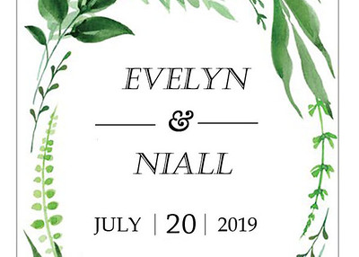 20-07-2019 ~ Evelyn and Niall Wedding