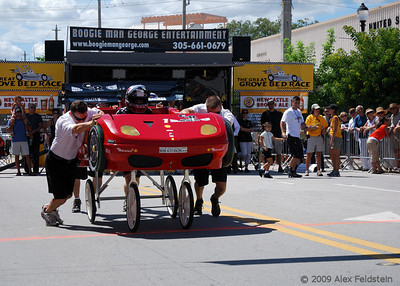 2009 Coconut Grove Bed Race