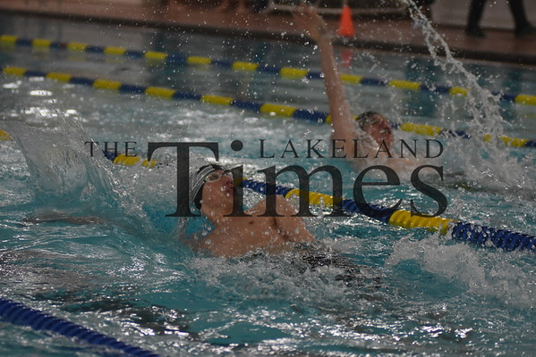 Boys' Swimming at Tomahawk 1/17/19
