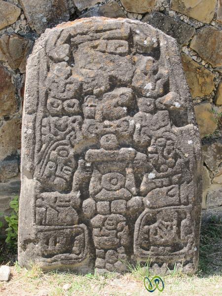Monte Alban Stone Engravings - Oaxaca, Mexico