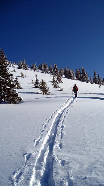 Berthoud Pass Skiing 3/28/2010