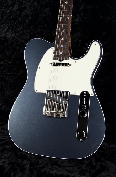 25th Anniversary NOS VT #3776, Metallic Charcoal Frost, White Double Binding Edge, Grosh T/T Pickups