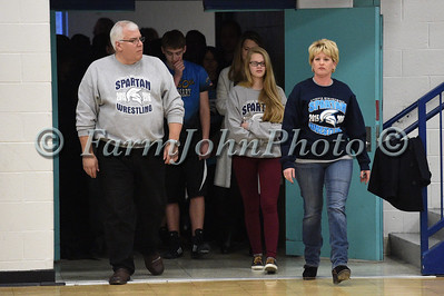 1/20/2016 Livonia Stevenson Wrestling vs Salem - Parent Night