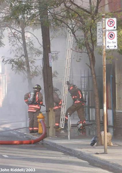 October 7, 2002 - 2nd Alarm - 324 Queen St. East