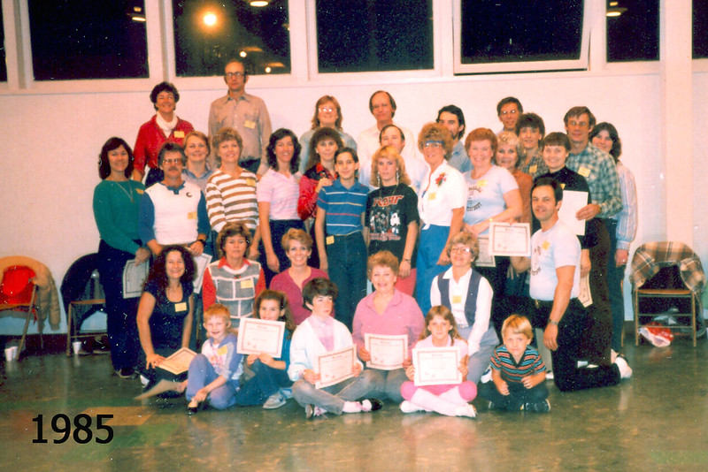 Graduates of 1985 BHC Beginner Class