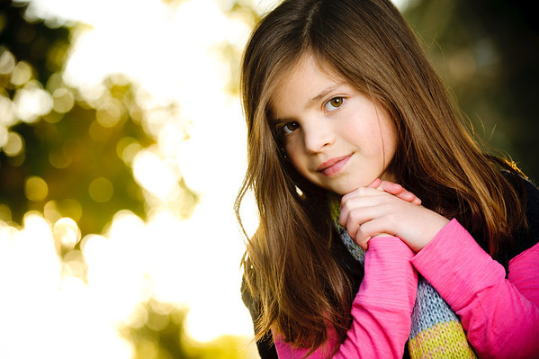 Kayla (Child Modeling Photography) @ Wilder Ranch, Santa Cruz, California