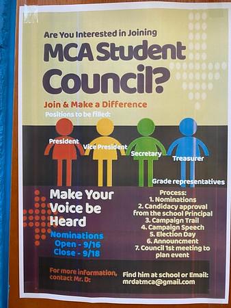 MCA Elections