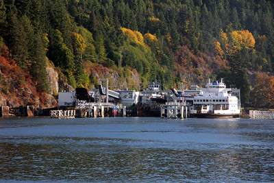 BC Ferries to/from Vancouver Island - 4 & 7 October 2012