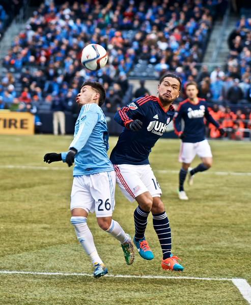 NYFC Soccer versus New England Revolution