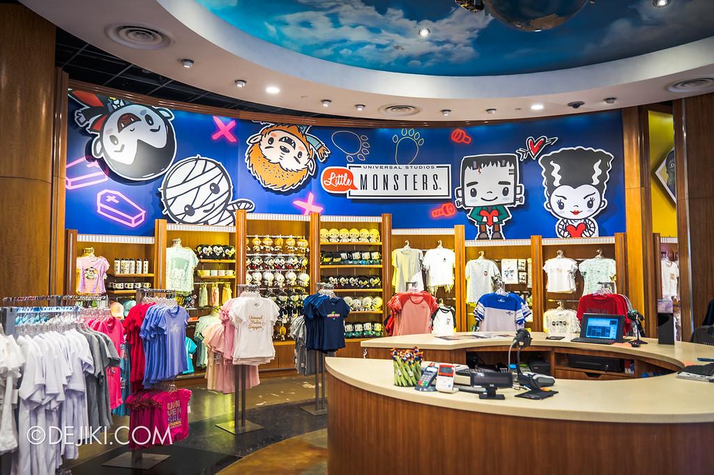 Universal Studios Singapore Halloween Horror Nights 8 / Universal Studios Little Monsters retail display