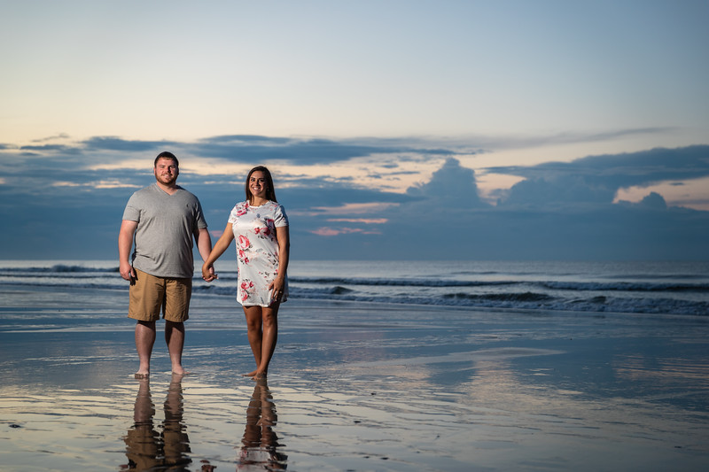 Brandi & Tyler | Engagement Session at Myrtle Beach