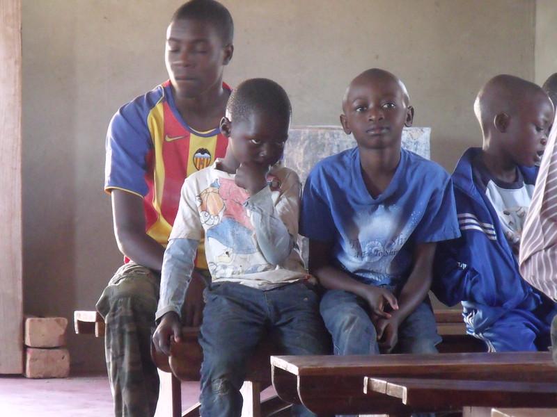Members of the Church community at Zimba