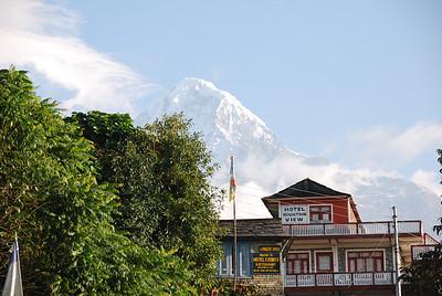 Day 2 - Ghandruk to Chumrung (Oct 15)