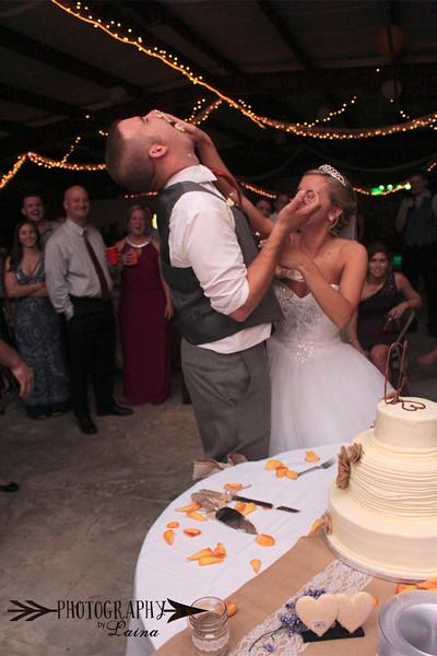 Wedding cake smash, Cake Wars, Pioneer Florida Museum wedding, Photography by Laina, Dade City Wedding Photographer