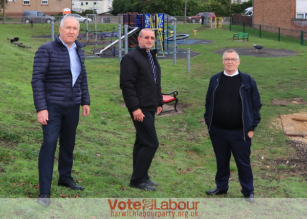 'Urgent calls to report vandalism at Bathside Bay play park' [Harwich & Manningtree Standard]