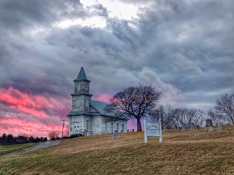 Blue Springs Lutheran Church in Mosheim (Greene County) TN. (2020)