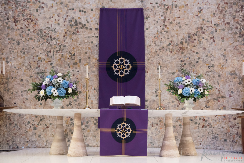 Main Chapel Altar close up.