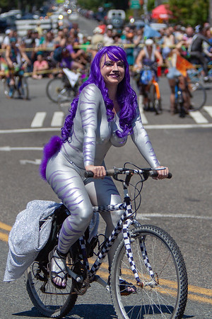 Fremont Solstice Parade 2018 (caution - contains nudity)