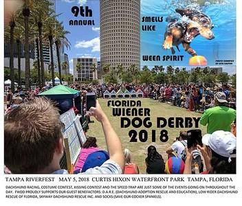 EVENT: 2018-05-05...FLORIDA WIENER DOG DERBY,TAMPAFL